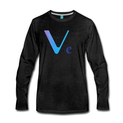 VeChain Premium Long Sleeve - charcoal gray