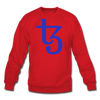 Tezos Crewneck Sweatshirt - red