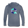 Quant Unisex Tri-Blend Hooded Shirt - heather blue
