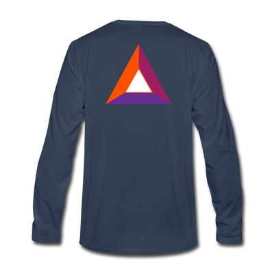 Basic Attention Token Premium Long Sleeve - navy