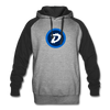 Digibyte Colorblock Hooded Sweater - heather gray/black