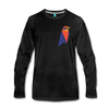 Ravencoin Premium Long Sleeve - charcoal gray