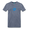 Dash Men's Premium T-Shirt - heather blue