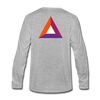 Basic Attention Token Premium Long Sleeve - heather gray