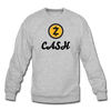 Zcash Crewneck Sweatshirt - heather gray