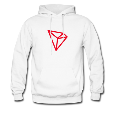 TRON Premium Hooded Pull-Over - white