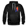 Ravencoin Premium Hooded Pull-Over Sweater - charcoal gray