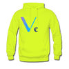 VeChain Men's Hooded Sweater - safety green