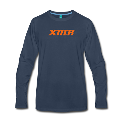 Monero Premium Long Sleeve - navy