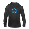 Wanchain Unisex Tri-Blend Hoodie Shirt - heather black
