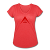 Ark Women's Tri-Blend V-Neck T-Shirt - Sticky Crypto