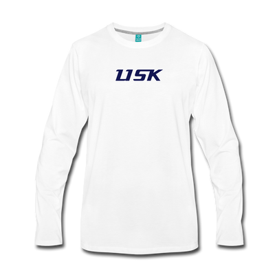 LISK Premium Long Sleeve - white