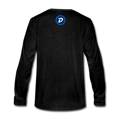 Digibyte Premium Long Sleeve - charcoal gray