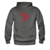 TRON Premium Hooded Pull-Over - charcoal gray