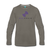 QLC Chain Premium Long Sleeve T-Shirt - asphalt gray