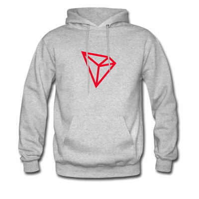 TRON Premium Hooded Pull-Over - heather gray