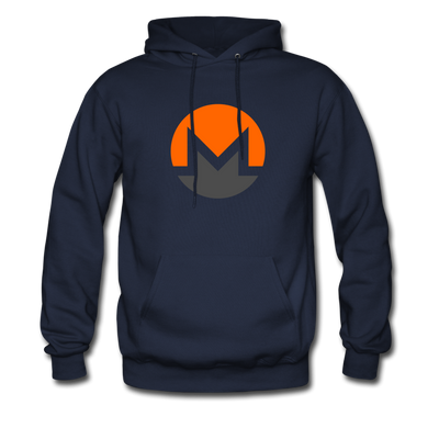 Monero Premium Hooded Pull-Over - navy