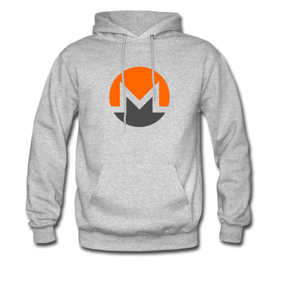Monero Premium Hooded Pull-Over - heather gray