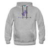 QLC Chain Premium Hooded Sweater - heather gray