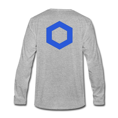 Chainlink Premium Long Sleeve - heather gray
