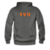 Ravencoin Premium Hooded Pull-Over - charcoal gray