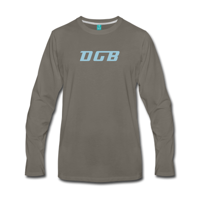 Digibyte Premium Long Sleeve - asphalt gray