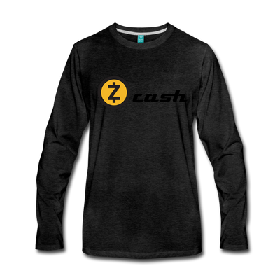Zcash Premium Long Sleeve - charcoal gray