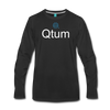 Qtum Premium Long Sleeve - black