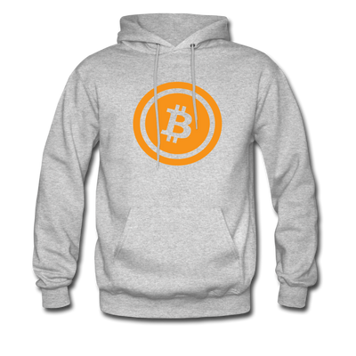 Bitcoin Hoodie - heather gray