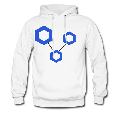 ChainLink Premium Hooded Pull-Over - white