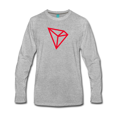 TRON Premium Long Sleeve - heather gray
