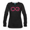Aeternity Women's Premium Long Sleeve T-Shirt - Sticky Crypto