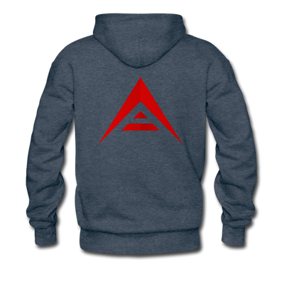 ARK Premium Hooded Sweater - heather denim