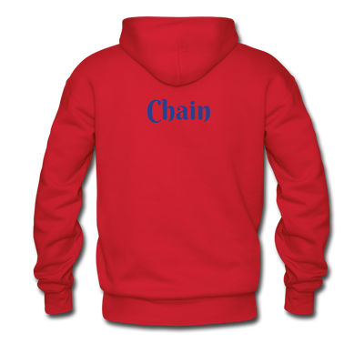 VeChain Men's Hooded Sweater - red