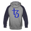 Tezos Colorblock Hooded Sweater - heather gray/navy