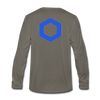Chainlink Premium Long Sleeve - asphalt gray