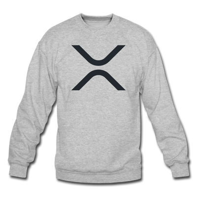 XRP Crewneck Sweatshirt - heather gray