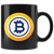 Bitcoin Gold Coffee Mug -- All Black