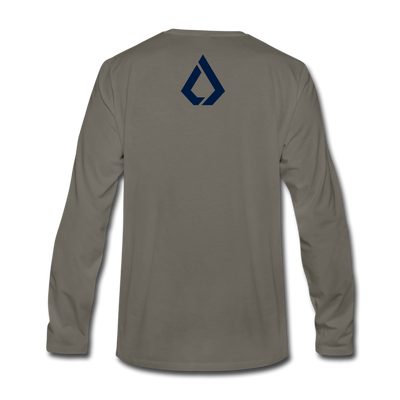 LISK Premium Long Sleeve - asphalt gray