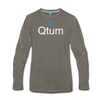 Qtum Premium Long Sleeve - asphalt gray
