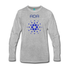 Cardano Premium Long Sleeve - heather gray