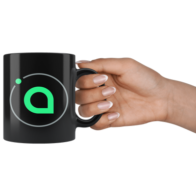 Siacoin Coffee Mug -- All Black