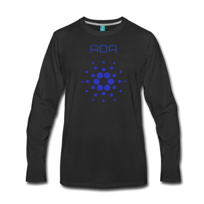 Cardano Premium Long Sleeve - black
