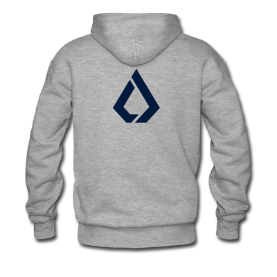 LISK Premium Hoodie - heather gray