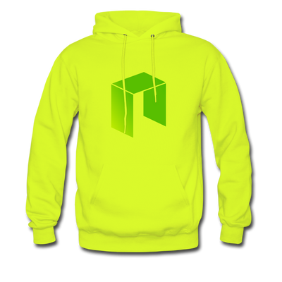 NEO Premium Hooded Pull-Over - safety green