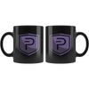 PIVX Coffee Mug -- All Black