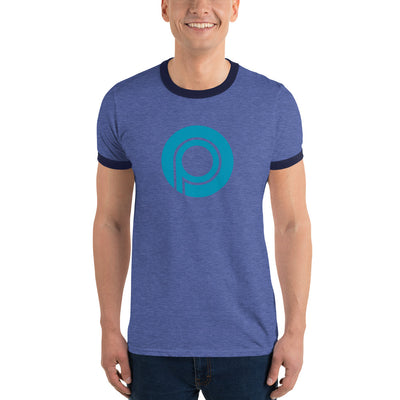Paycoin Lightweight Ringer Tee with Tear Away Label
