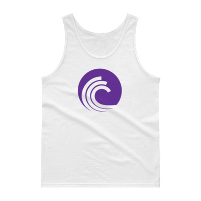 BitTorrent Cotton Tank Top with Tear Away Label - Sticky Crypto