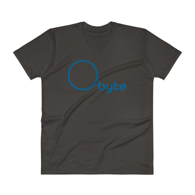Obyte (Byteball) Fashion V-Neck T-Shirt with Tear Away Label