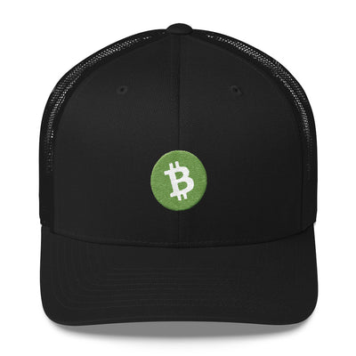 Bitcoin Cash Trucker Cap - Sticky Crypto